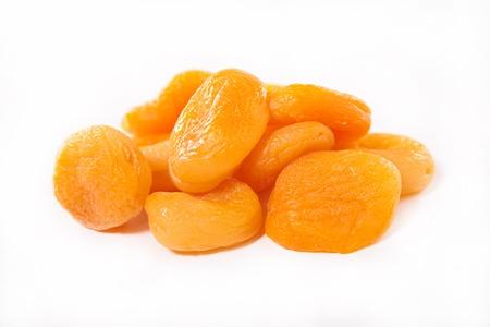 apricots: dried apricots Stock Photo