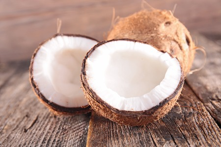 background food: coconut