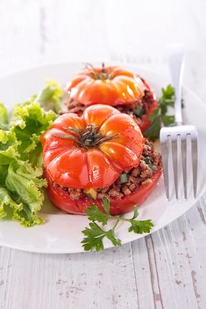 stuffed: stuffed tomato