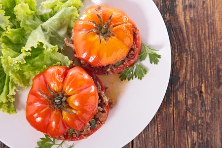 epicure: baked tomatoes with beef