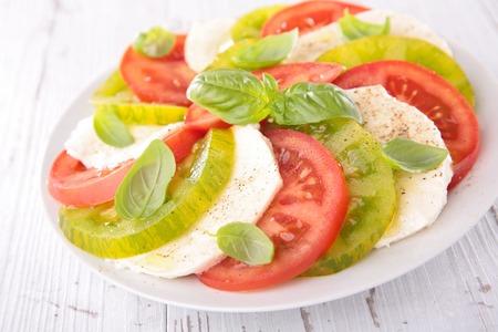 comidas saludables: Ensalada de tomate