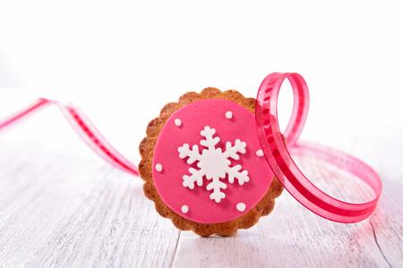 galletas de navidad: galleta de jengibre para la Navidad Foto de archivo