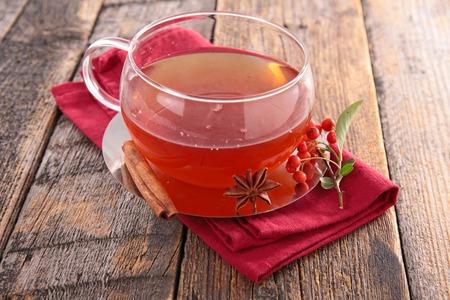 red tea: red tea Stock Photo