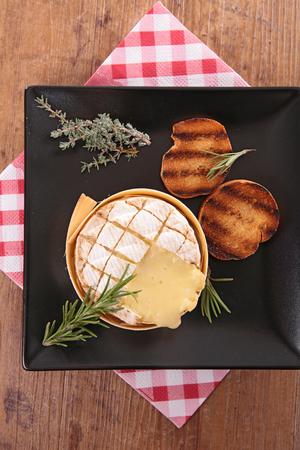 camembert: baked camembert