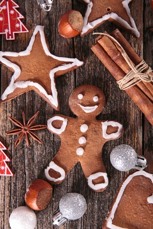 star anise christmas: christmas gingerbread cookie
