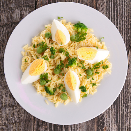epicure: rice and egg