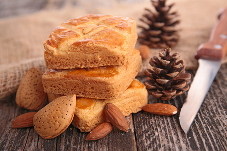 almond biscuit: almond biscuit