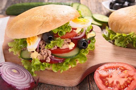 Sandwich Banque d'images - 47442651