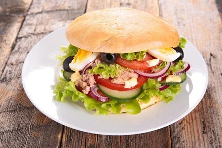 Sandwich Banque d'images - 47442838