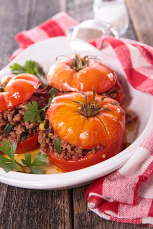 baked: baked tomato