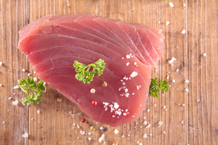 epicure: raw tuna steak