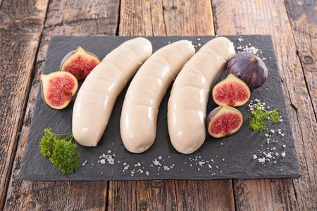 white sausage: white sausage for christmas