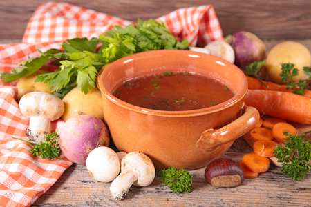 ingredient: soup and ingredient