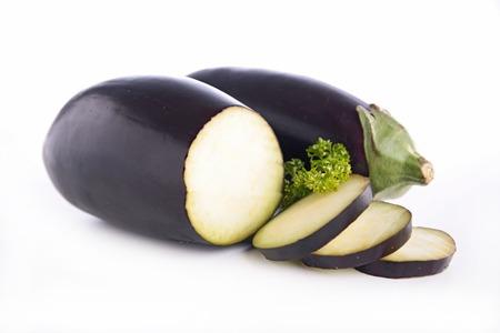 aubergine: raw aubergine