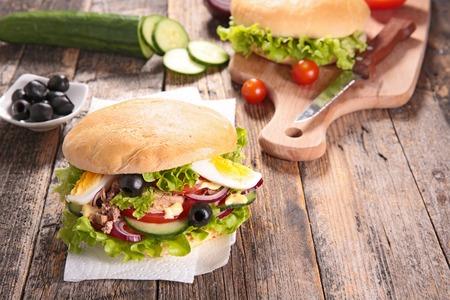 sandwich, panbagnat