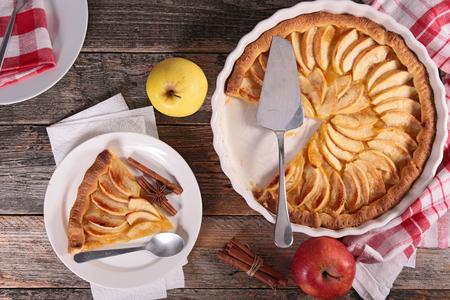 pie de manzana: tarta de manzana