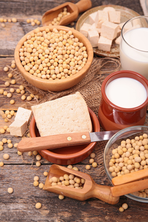 composition: composition with soy product
