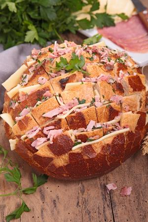 cheesy: cheesy pull apart bread