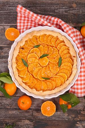 clementine: clementine tart