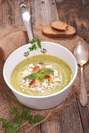 courgette: courgette soup