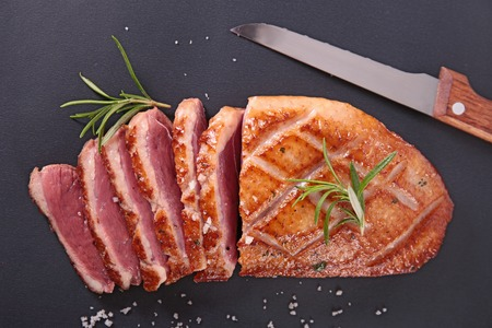 grilled duck breast