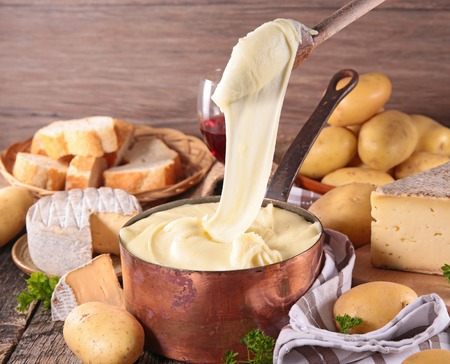 aligot,cheese melted