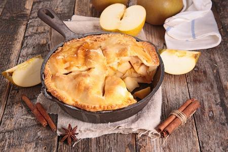 pastel de manzana: apple pie