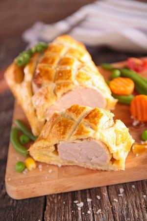 tenderloin: pork tenderloin en croute