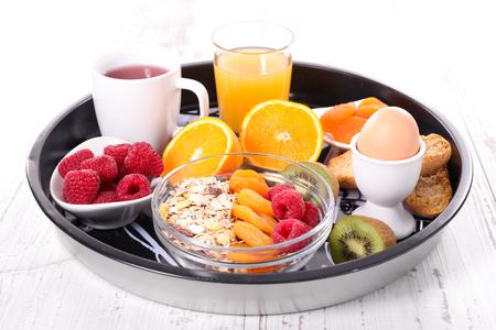gezond ontbijt Stockfoto