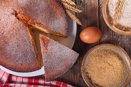 ingredient: cake with ingredient Stock Photo