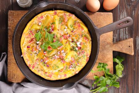 tortilla: omelet or tortilla