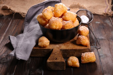 none: fried french donut pet de none