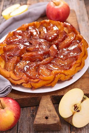 pasteleria francesa: tarte tatin, pastelería francés