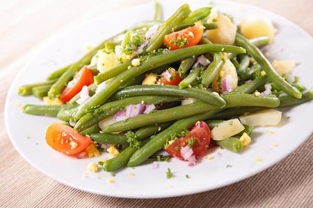 green bean: vegetable salad