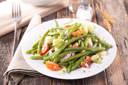 green vegetable: vegetable salad