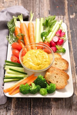 dip: vegetable dip