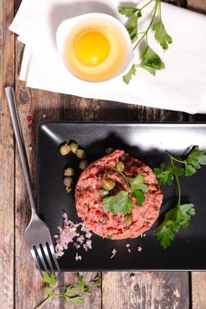 tartare: steak tartare