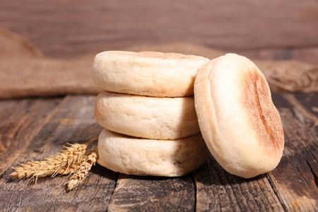muffin: english muffin Stock Photo