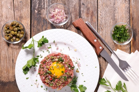tartar: steak tartar