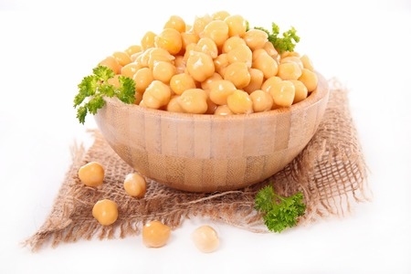 epicure: chickpea Stock Photo