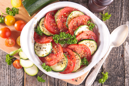 courgette: tomato,courgette cooked with herb