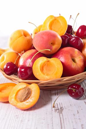 summer fruits: summer fruits