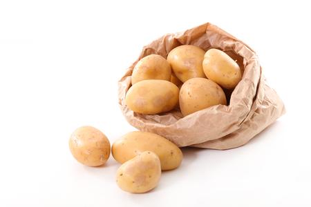raw: raw potatoes
