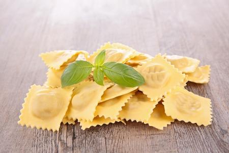 raw: raw ravioli