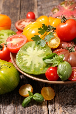 variety: variety tomato Stock Photo