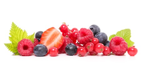 assortment: assortment of berries Stock Photo