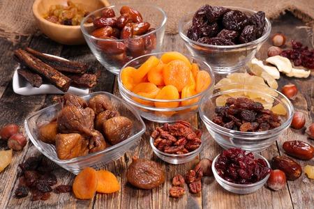 assorted dried fruit Reklamní fotografie - 57341408