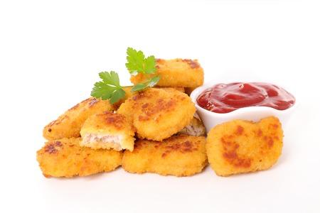 nugget: chicken nugget