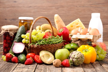 composition: composition with organic food