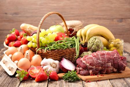 ingredient: healthy food ingredient Stock Photo